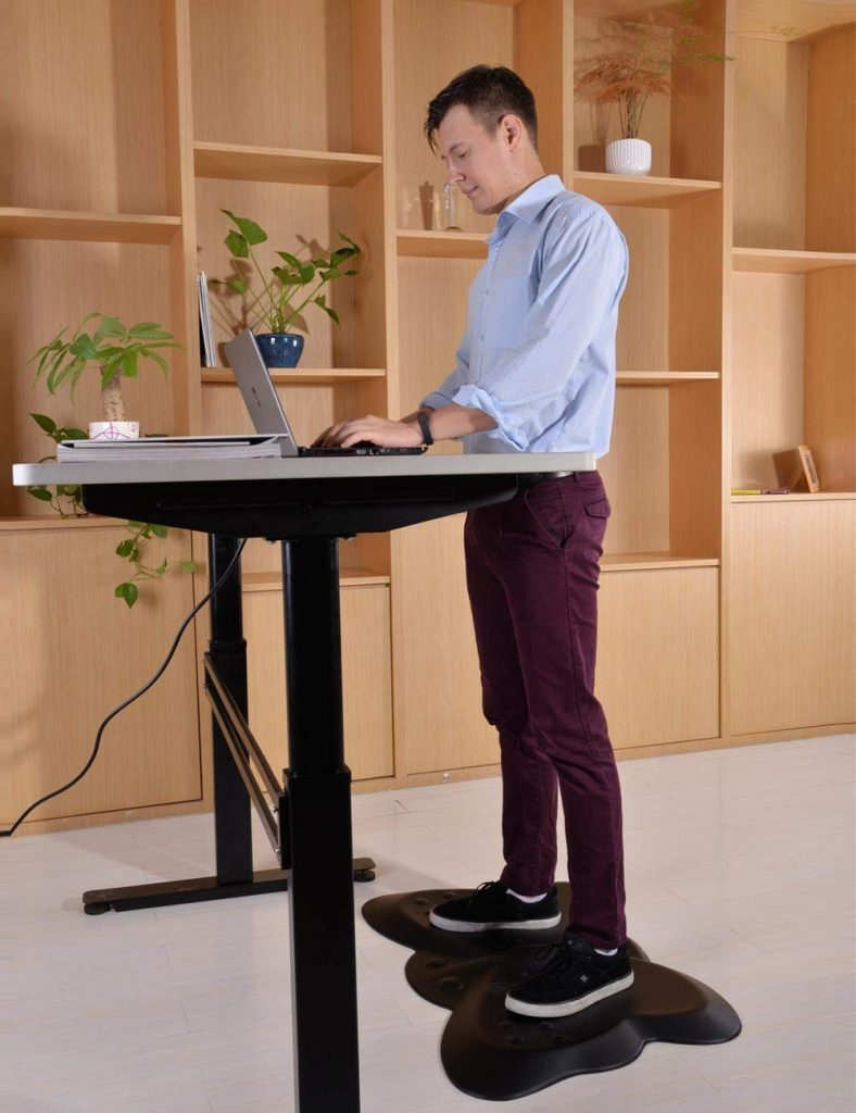 Butterfly Ergonomic Non-Flat Anti Fatigue Standing Desk Mat