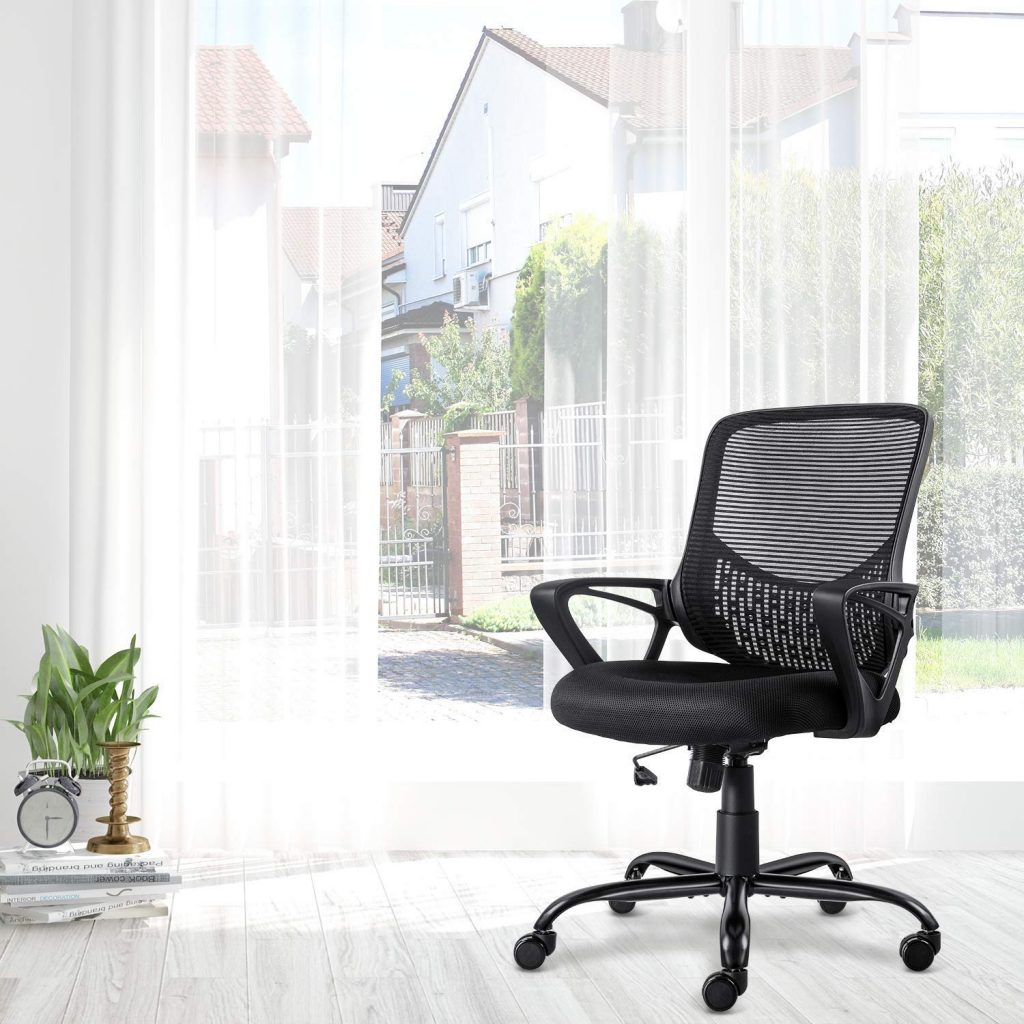 Here's a photo of the Ergonomic Office Chair Lumbar Support Mesh Chair Computer Desk Task Chair with Armrests