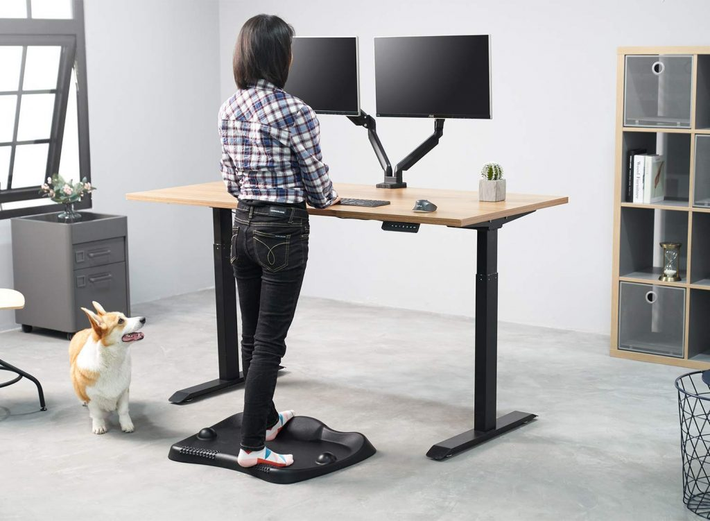 FEZIBO Anti-Fatigue Standing Desk Mat